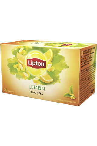 Lipton 32g Lemon musta tee 20ps