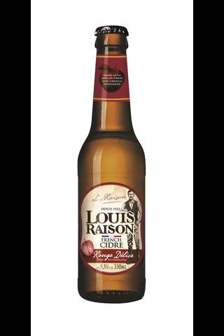 Louis Raison Rouge Délice 5,5% 33cl siideri
