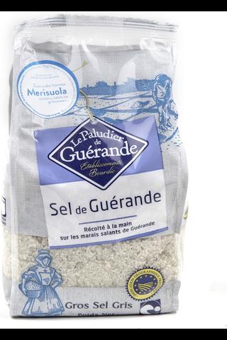 Le Paludier 1kg Sel de Guérande ranskalainen karkea harmaasuola