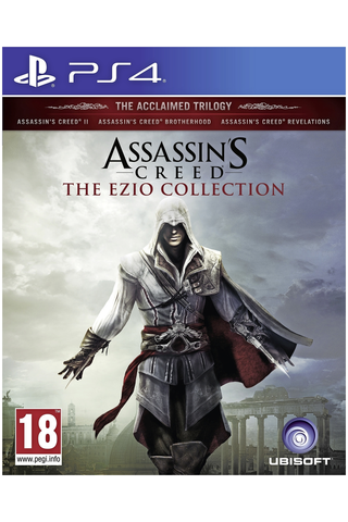 PlayStation 4 Assassin's Creed: The Ezio Collection