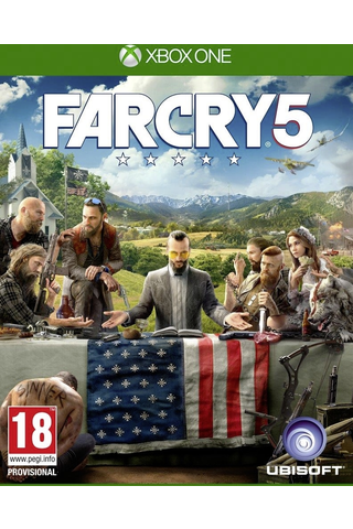 Xbox One peli Far Cry 5