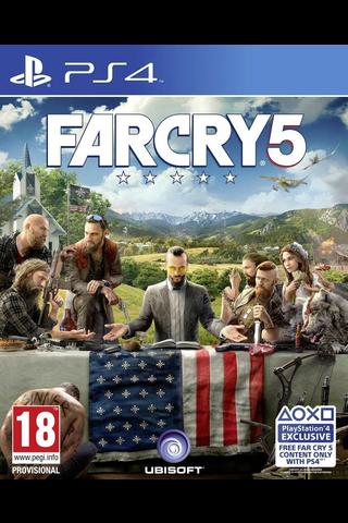 PlayStation 4 peli Far Cry 5