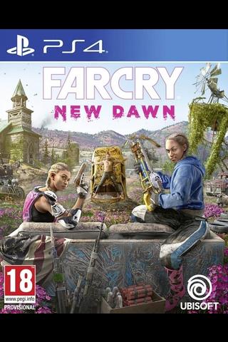 PlayStation 4 peli Far Cry: New Dawn