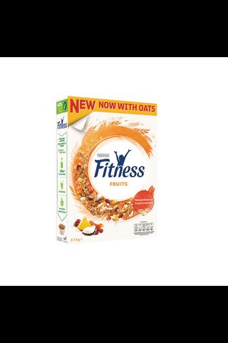 Nestlé Fitness 375g Fruits täysjyvähiutaleita