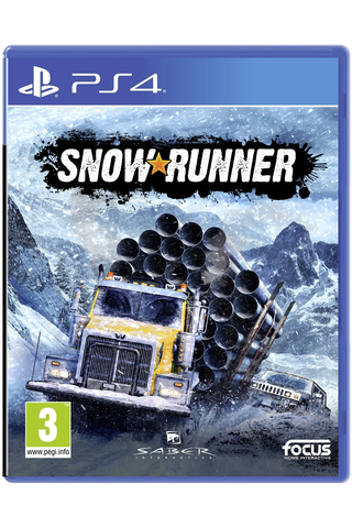 Playstaion 4 SnowRunner