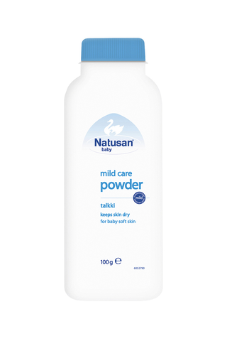 Natusan Baby 100g Mild Care Powder talkki