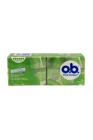 o.b.® ProComfort Super Plus tamponi 16 kpl
