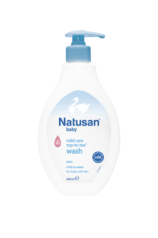 Natusan Baby 400 ml Mild Care Top-to-toe pesuneste