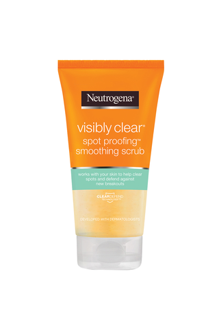 Neutrogena Visibly Clear 150ml Spot Proofing Smoothing Scrub kuorintavoide