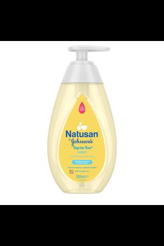 Natusan by Johnson's Top-to-toe pesuneste 300ml