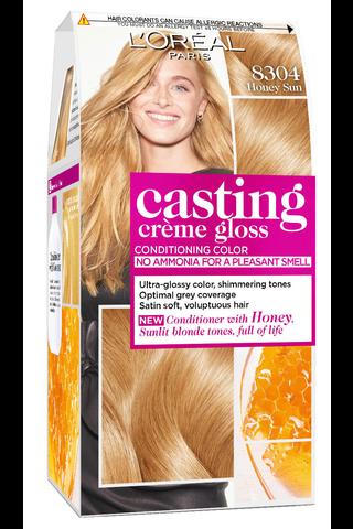 Casting Crème Gloss 8304 Sunny Honey Luonnonvaalea Kupari Kulta kevytväri