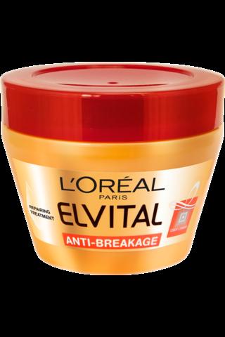L'Oréal Paris Elvital 300ml Anti-Breakage hiusnaamio hauraille ja katkeileville hiuksille