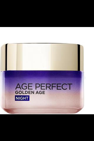 L'Oréal Paris Age Perfect Golden Age Night vahvistava ja kaunistava yövoide 50ml
