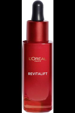L'Oréal Paris Revitalift ryppyjä silottava ja ihoa kiinteyttävä anti-age seerumi 30ml