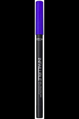 L'Oréal Paris Infaillible Gel Crayon 10 I've Got the Blue -silmänrajauskynä