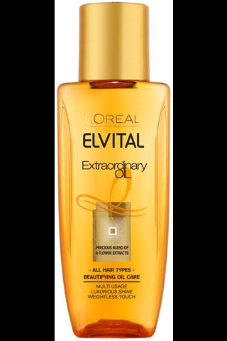 Elvital 50ml Extraordinary Oil hiusöljy kaikille hiustyypeille
