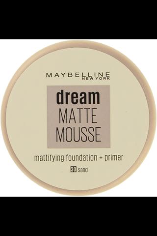 Maybelline New York Dream Matte Mousse 030 Sand meikkivoide 18ml