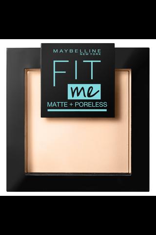 Maybelline New York Fit Me Matte + Poreless 120 -puuteri