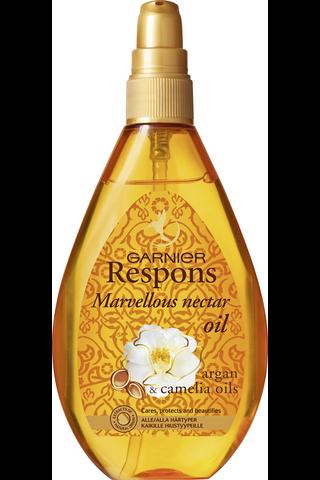 Garnier Respons 150ml Marvellous Nectar öljy kaikille hiustyypeille