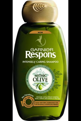 Garnier Respons 250ml Mythic Olive shampoo erittäin kuiville ja käsitellyille hiuksille