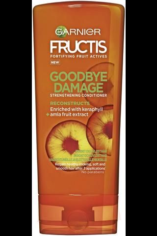 Garnier Fructis 200ml Goodbye Damage hoitoaine vaurioituneille ja elottomille hiuksille
