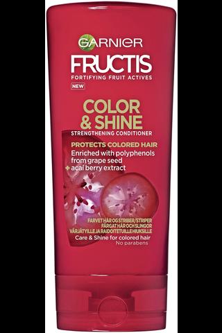 Garnier Fructis 200ml Color & Shine hoitoaine värjätyille ja raidoitetuille hiuksille