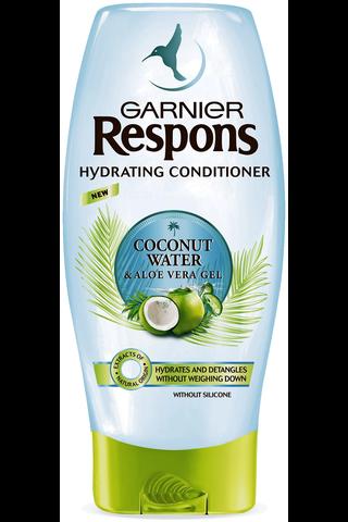 Garnier Respons 200ml Coconut Water & Aloe Vera Gel kosteuttava hoitoaine