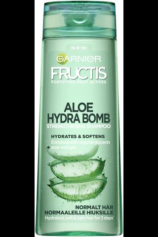 Garnier Fructis 250ml Aloe Quencher shampoo normaaleille hiuksille