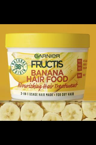 Garnier Fructis Banana Hair Food hiusnaamio 390ml
