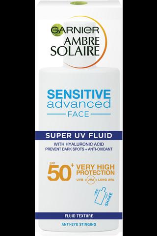 Garnier Ambre Solaire Anti-Dark Spots & Anti-Pollution* Super UV aurinkosuojaemulsio SK50+ 40ml