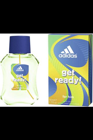 Adidas 50ml Get Ready eau de toilette