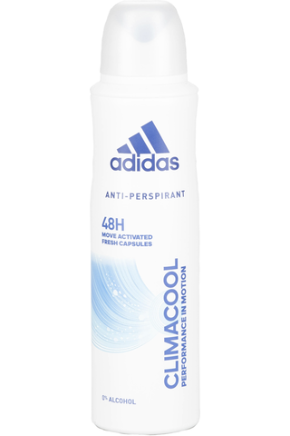 Adidas 150ml Climacool 48h antiperspirantti spray naisille