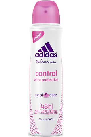 Adidas 150 ml Control antiperspirant deo spray naisille