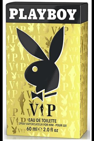 Playboy 60ml VIP for him EdT hajuvesi