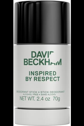 David Beckham 75ml Inspired By Respect deodorantti stick