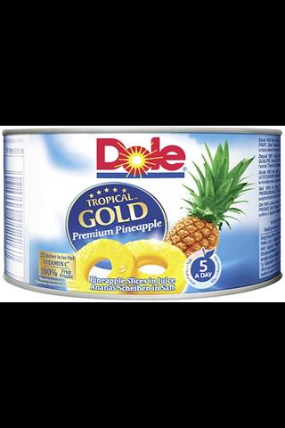227/139g Dole Tropical Gold Ananasviipaleita mehussa
