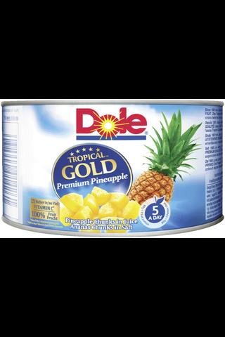 227/139g Dole Tropical Gold Ananaspaloja mehussa