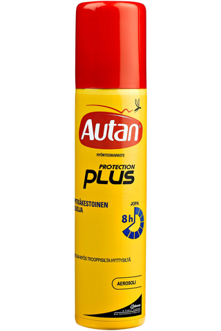 Autan Protection Plus 100ml aerosoli karkote