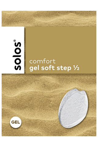 Solos gel soft step päkiäpehmuste yksi koko