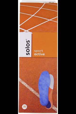 Solos Active urheilupohjallinen