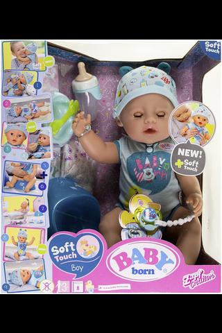 Baby Born Soft Touch poikanukke