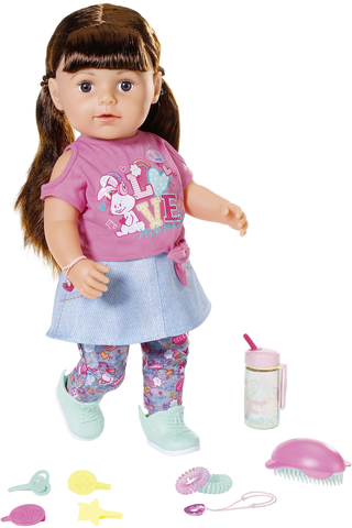 BABY born Soft Touch Sister tumma 43cm