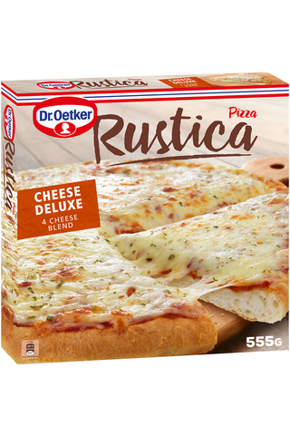Dr. Oetker Rustica 4 Cheese 555g