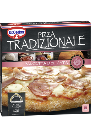 Dr. Oetker Tradizionale Pancetta pakastepizza 375g