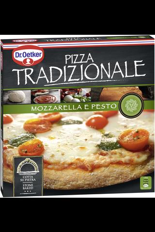 Dr. Oetker Tradizionale 370g Mozzarella e Pesto pakastepizza