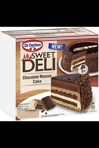 Dr. Oetker My Sweet Deli 600 g Chocolate Mousse Cake pakastekakkku