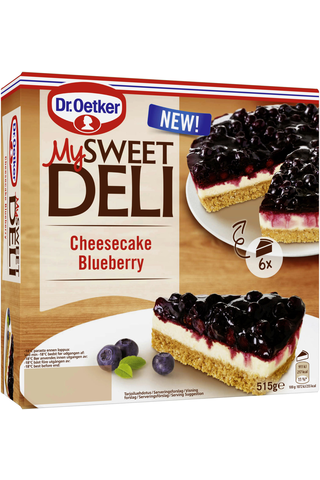 Dr. Oetker My Sweet Deli Cheesecake Blueberry pakastekakku 515 g