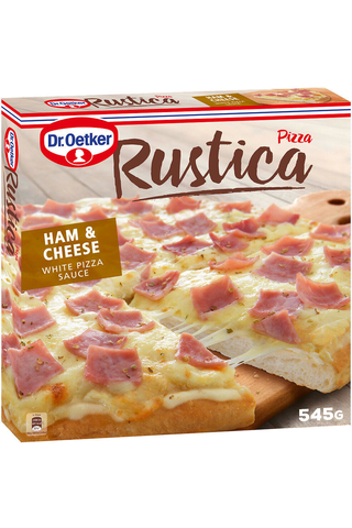 Dr. Oetker Rustica Ham & Cheese pakastepizza 545g