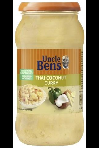 Uncle Ben's 450g Thai Coconut Curry, kasviksia miedossa kookos-ateriakastikkeessa