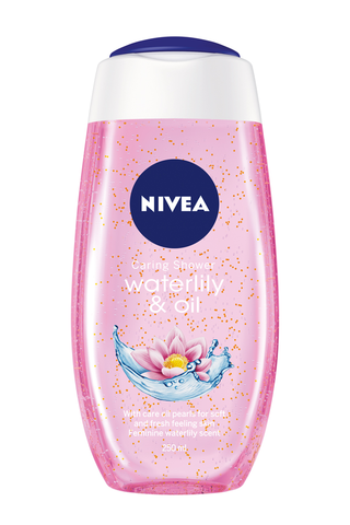 NIVEA 250ml Waterlily & Oil Caring Shower Gel -suihkugeeli